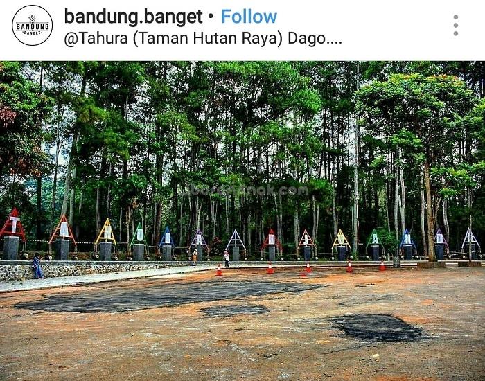 Tahura (Taman Hutan Raya) Bandung