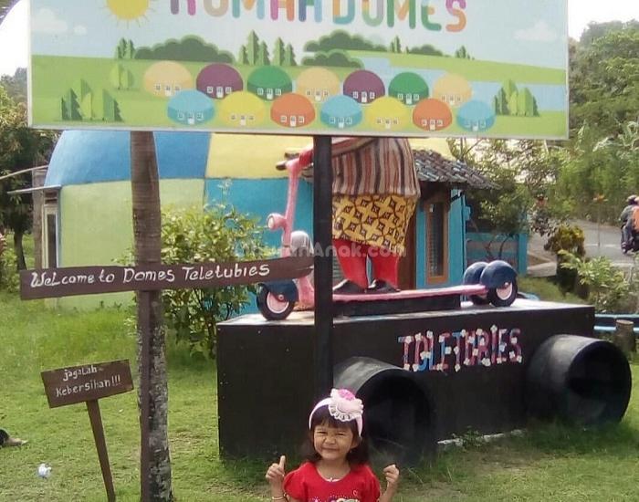 Kampung Teletubbies di Desa Wisata Rumah Domes
