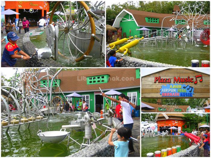 Hasil gambar untuk wahana di  eco green park batu