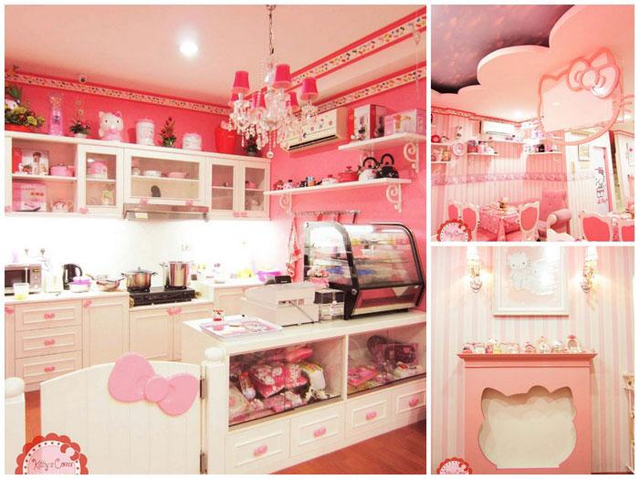 Penaatan Ruang Makan Hello Kitty
