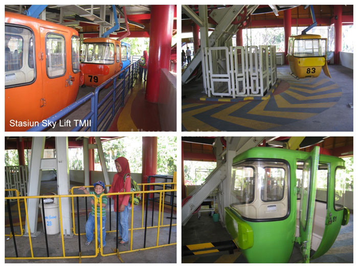 Skylift Taman Mini Indonesia Indah Kids Holiday Spots Liburan