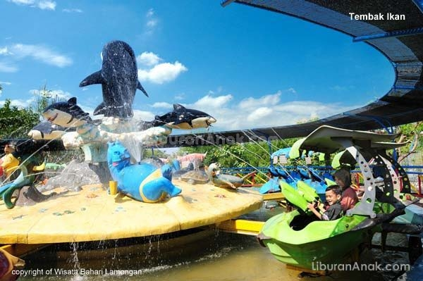 Wisata Bahari Lamongan Kids Holiday Spots Liburan Anak