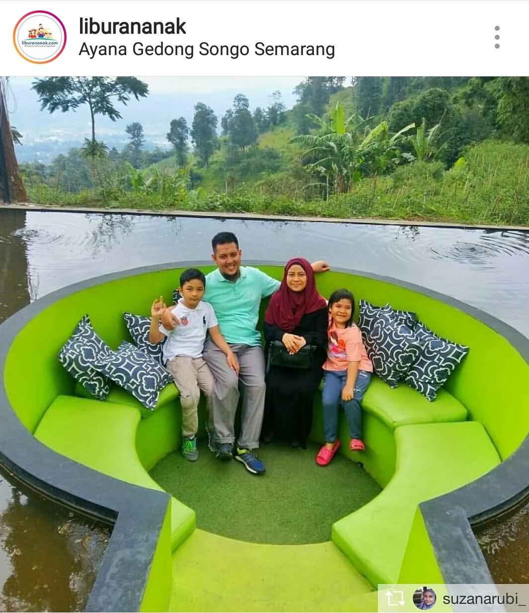 Ayana Gedong Songo Semarang Kids Holiday Spots Liburan Anak