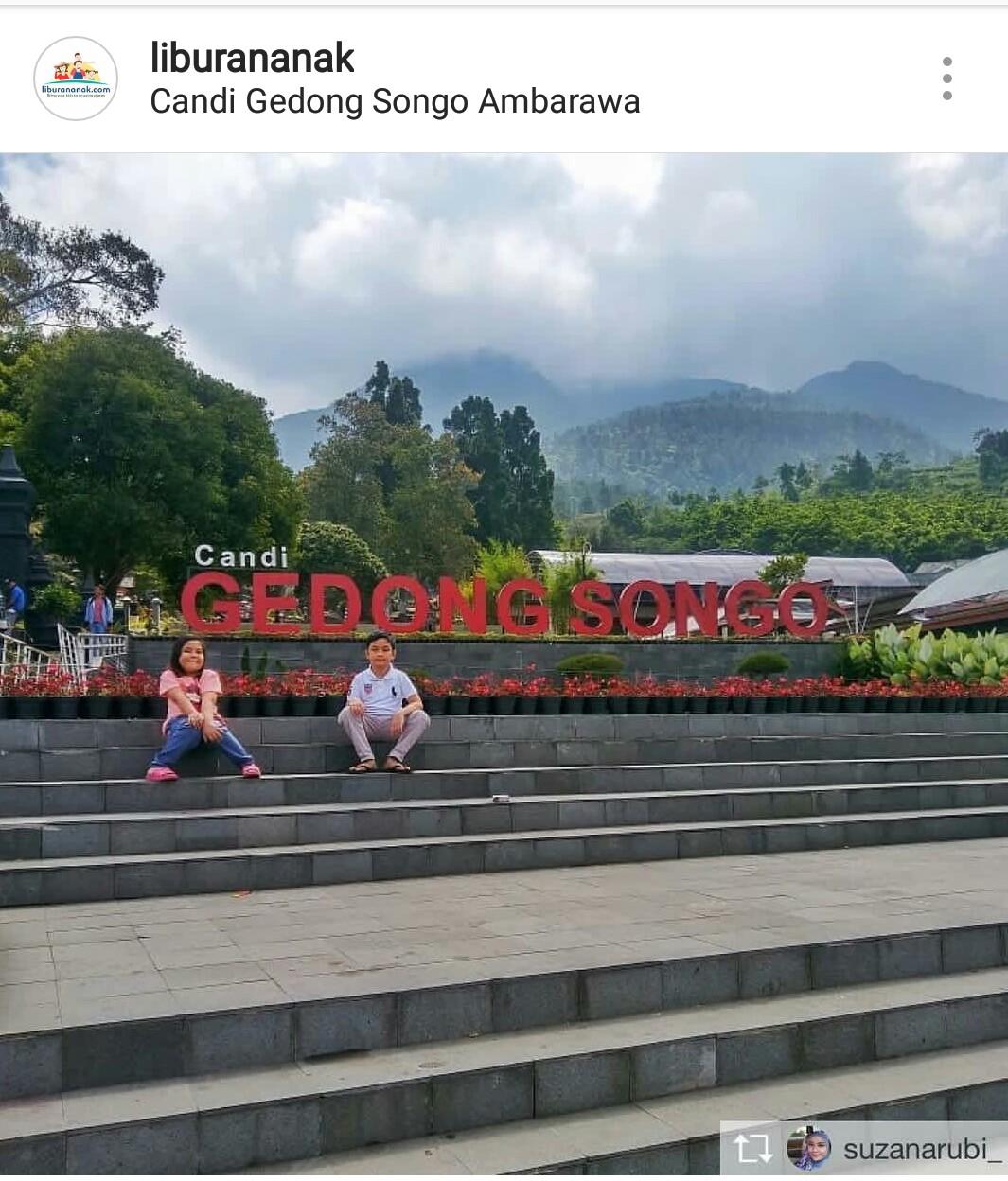 Candi Gedong Songo - Kids Holiday Spots - Liburan Anak - Informasi