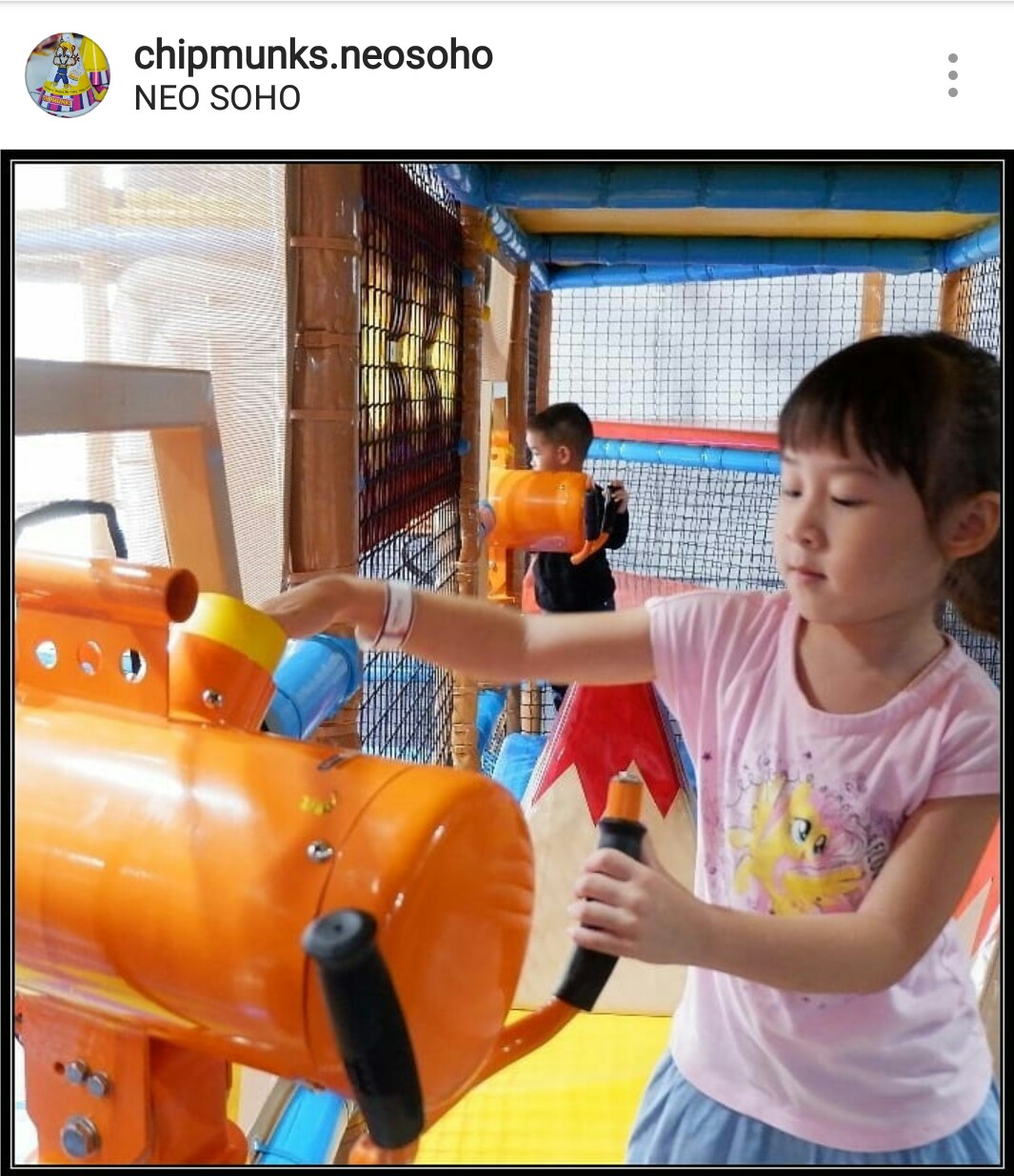 Neo Soho Official Website: Chipmunks Playland And Cafe Neo Soho Mall