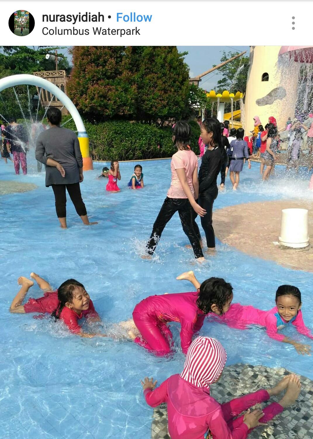 Columbus Waterpark Kids Holiday Spots Liburan Anak Informasi Voucher Tiket Bekasi Liburananak Columbuswaterpark