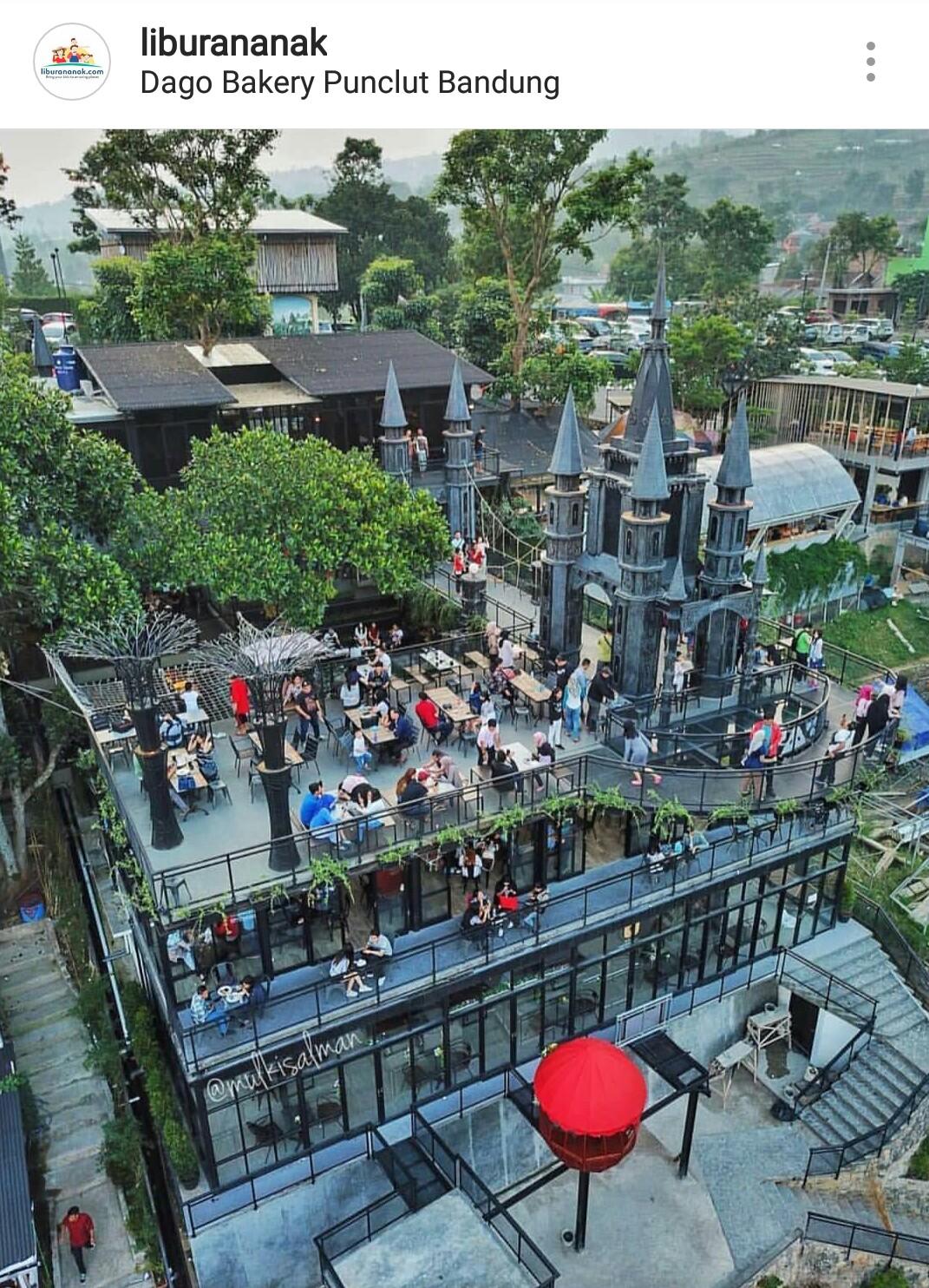 Dago Bakery Punclut Bandung - Kids Holiday Spots - Liburan Anak