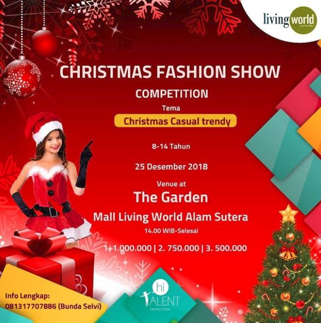 liburananak_christmas-fashion-show