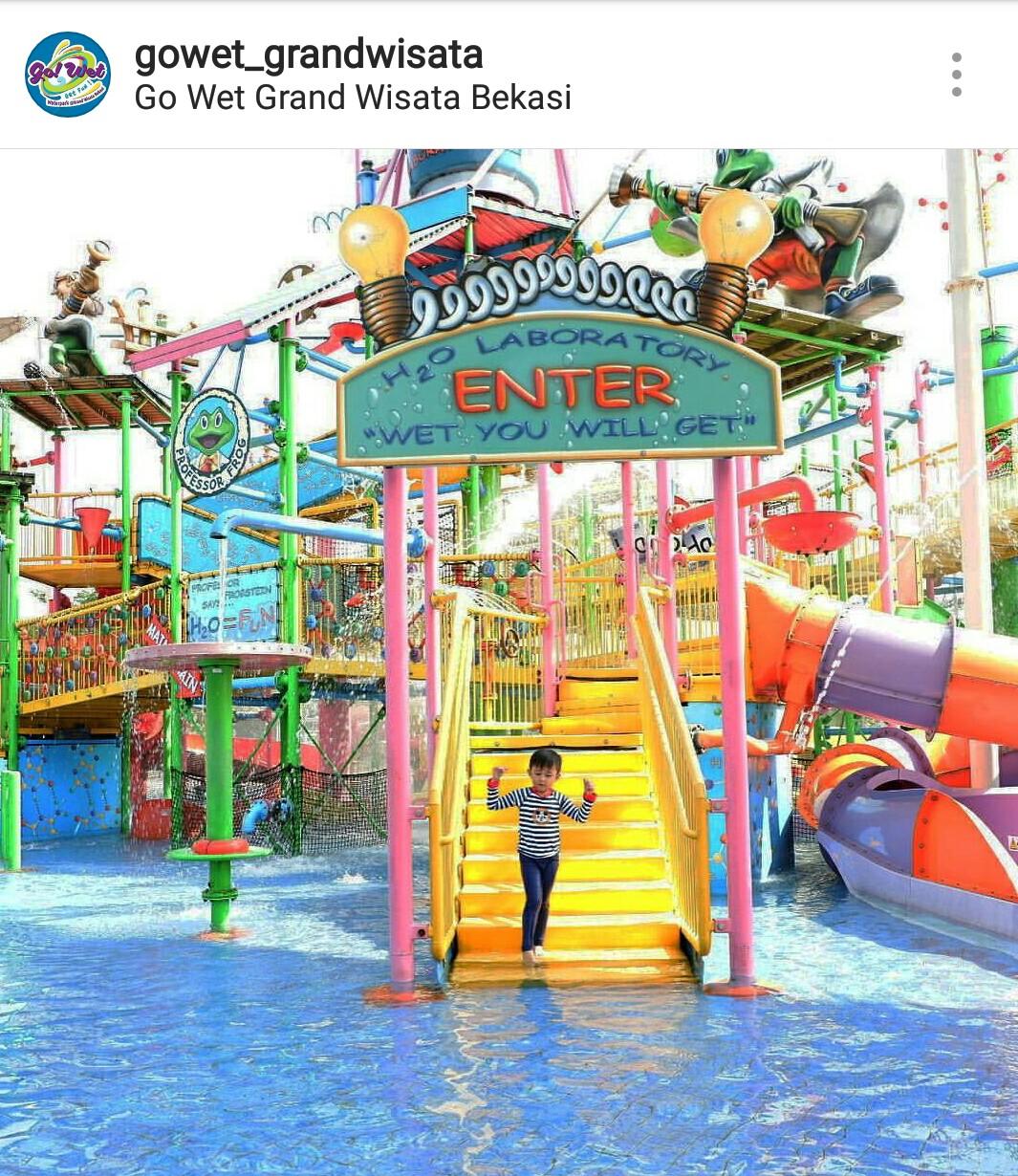 Go Wet Water Adventure Bekasi Kids Holiday Spots Liburan Anak Tiket Masuk Waterpark Grand Wisata Liburananak Gowetbekasi