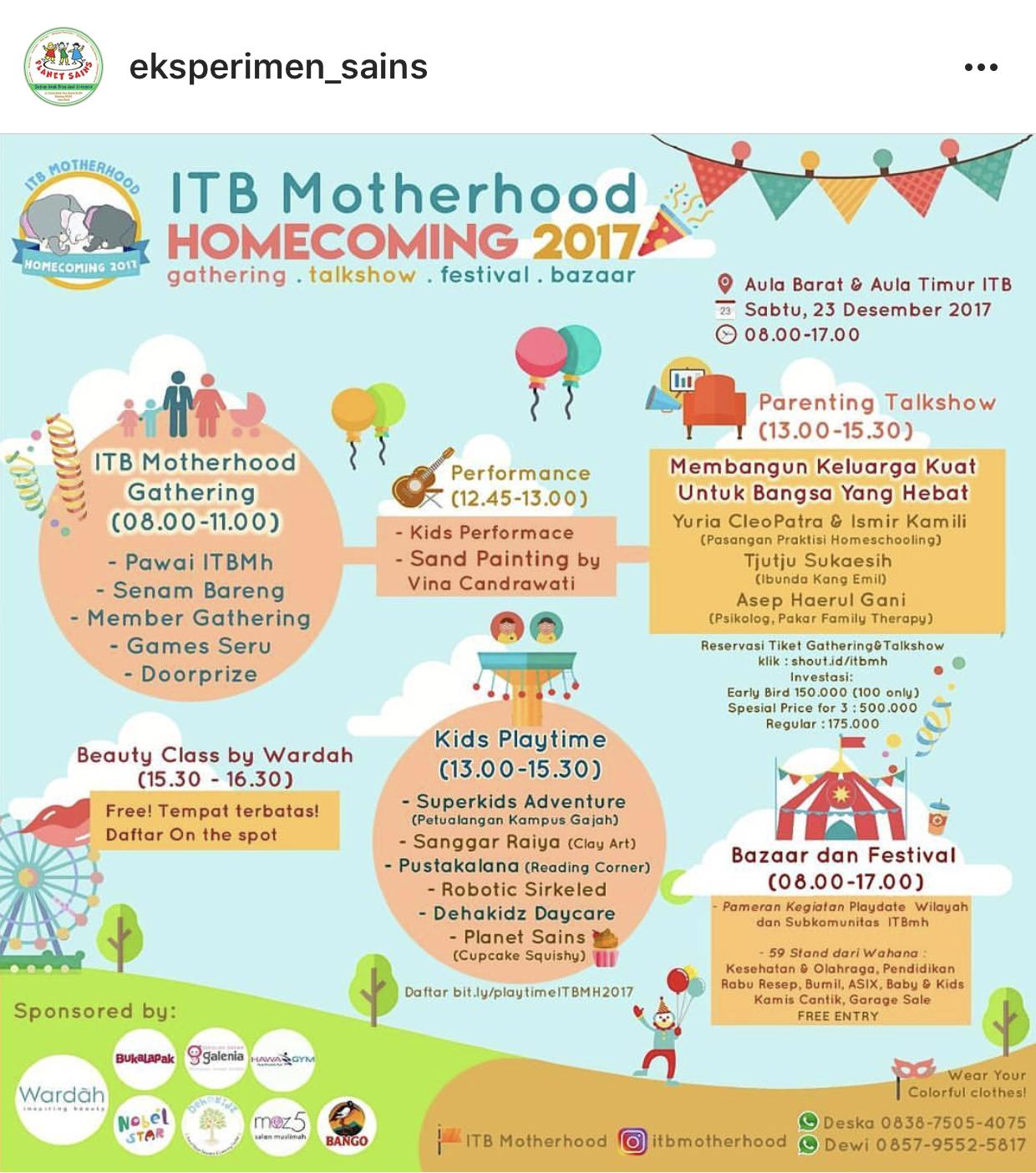 itbmotherhoodhomecoming2017_liburananak