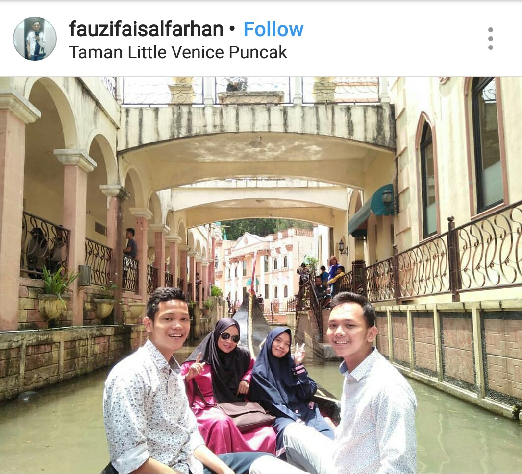 Little Venice Kota Bunga Puncak Bogor - Kids Holiday Spots
