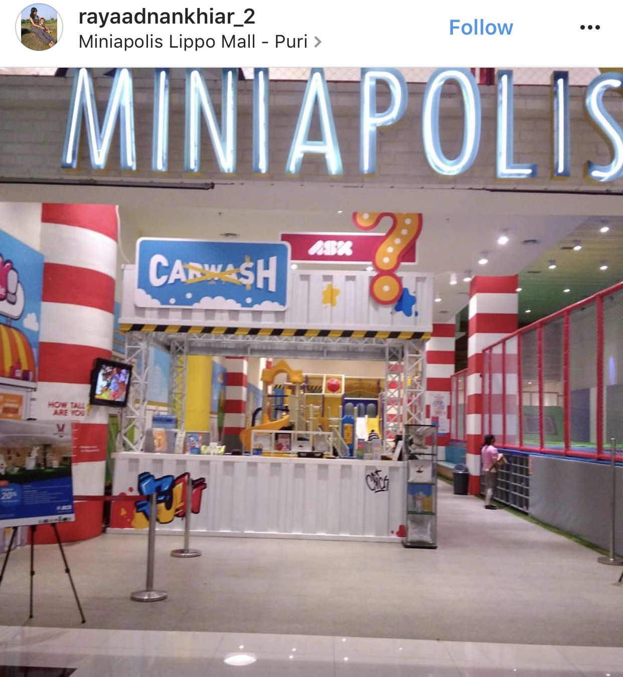 Miniapolis Lippo Mall Puri