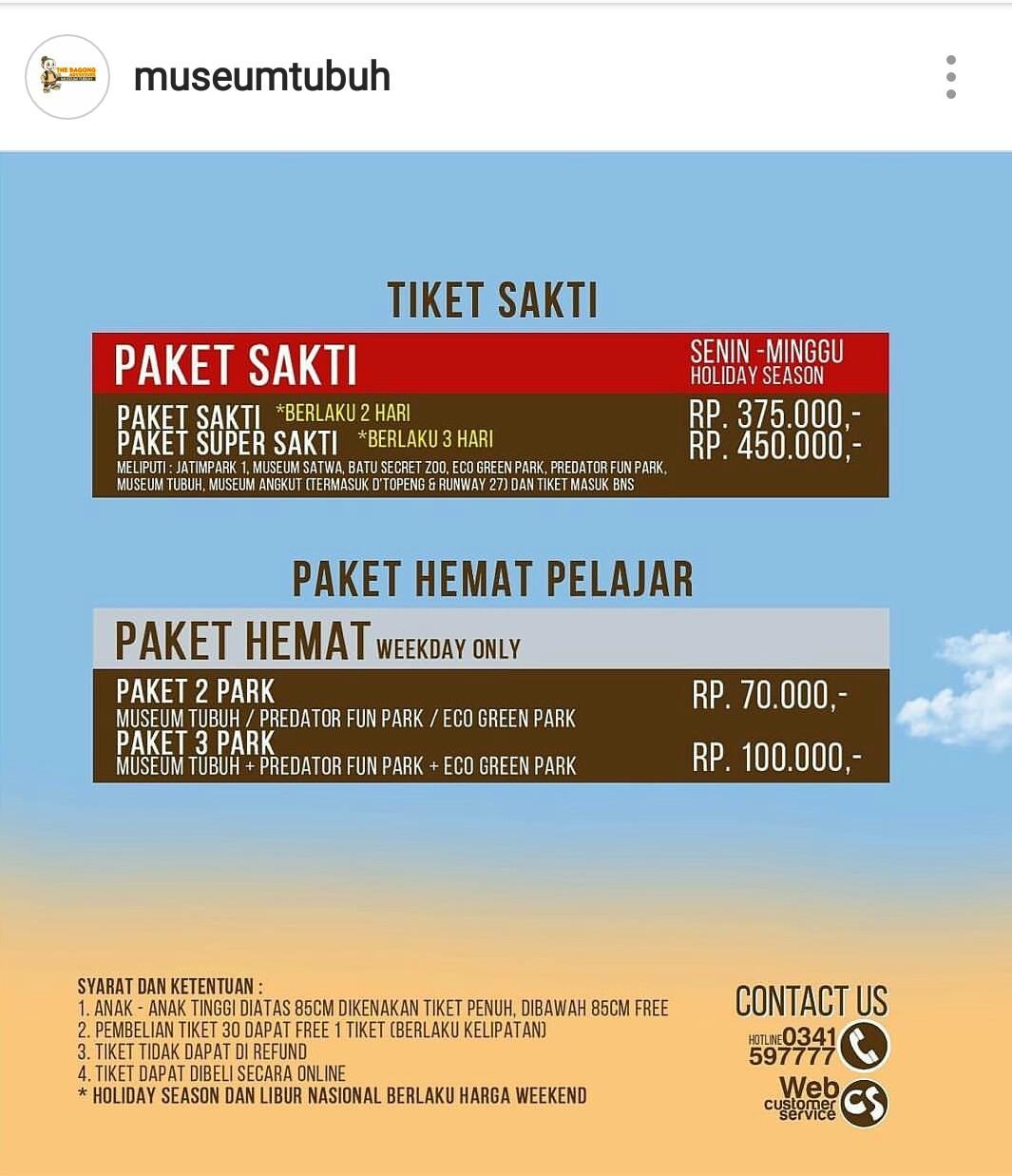 Museum Tubuh Kids Holiday Spots Liburan Anak Informasi Event