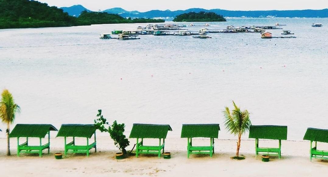 Pantai Sari Ringgung Lampung - Kids Holiday Spots