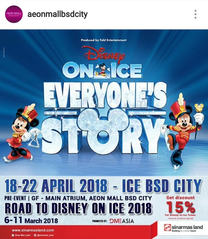 Road To Disney On Ice 2018 Kids Parents Events Liburan Anak