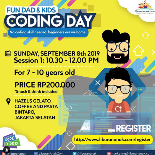 Fun Dad & Kid Coding Day
