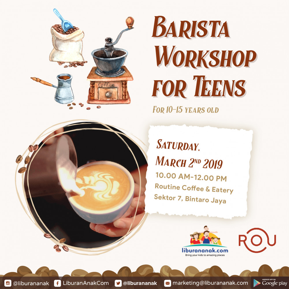 Barista Class for Teens