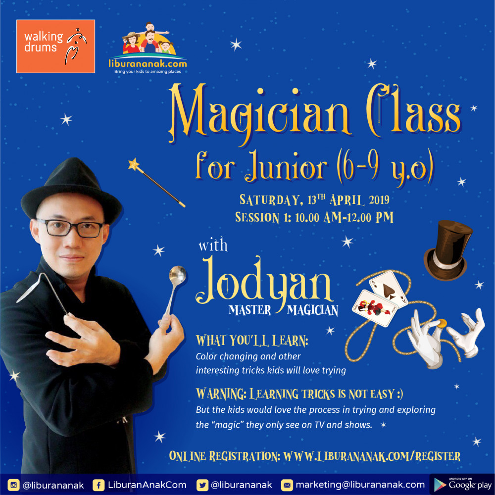 Magician Class for Junior