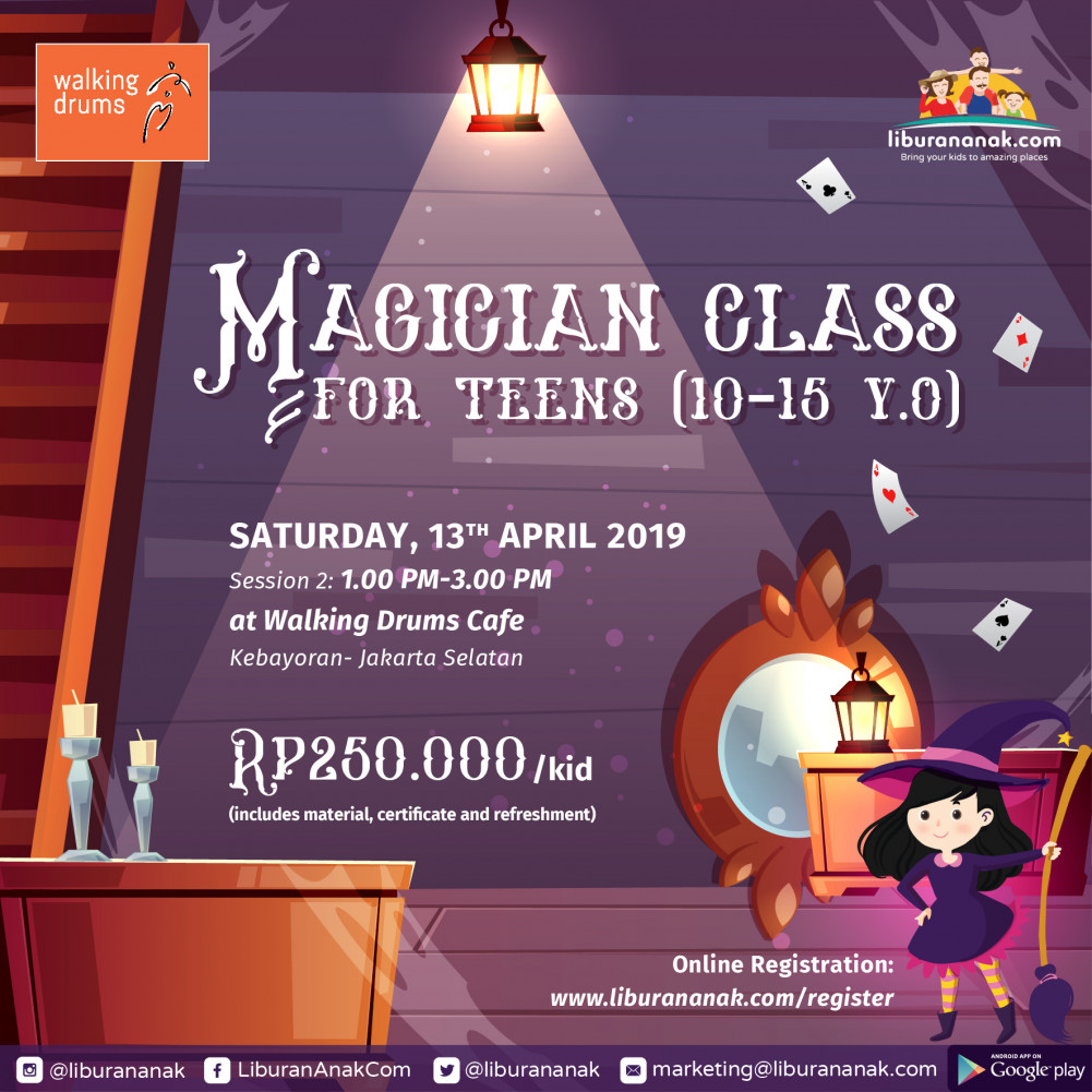 Magician Class for Teens
