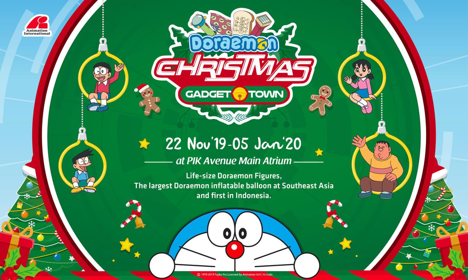 Doraemon Christmas Gadget Town