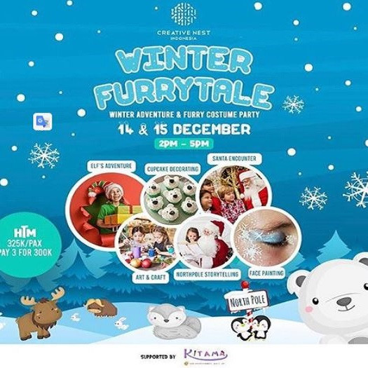 Winter Furrytale di Mall The Breeze
