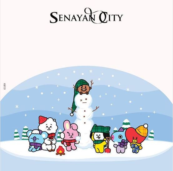 Play Line Friends A Winter's Tale di Senayan City Mall