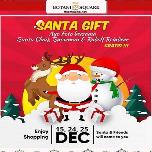 Santa Gift di Botani Square Mall