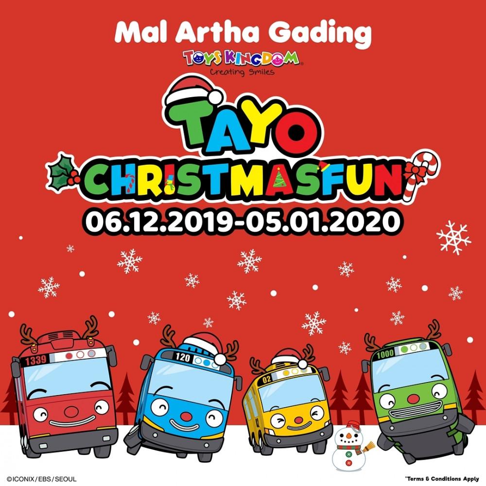Mal Artha Gading present Tayo Christmas Fun