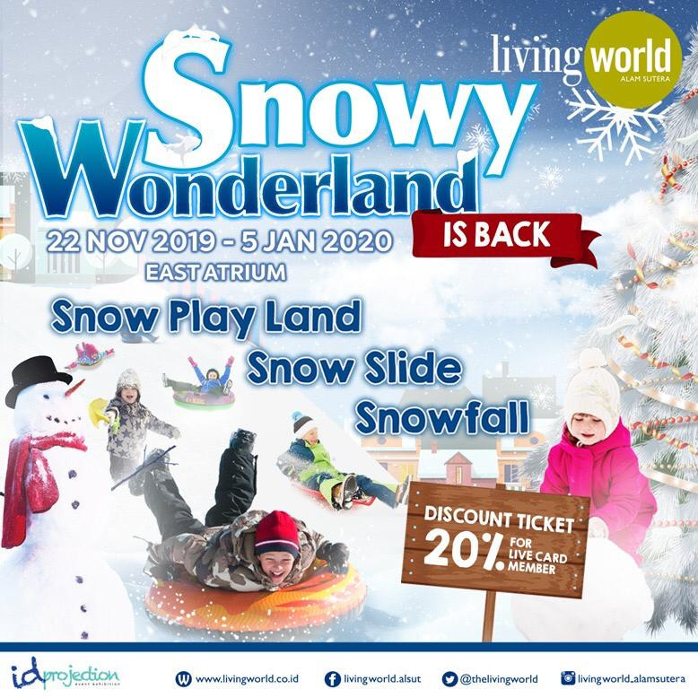 SNOWYWONDERLAND IS BACK!