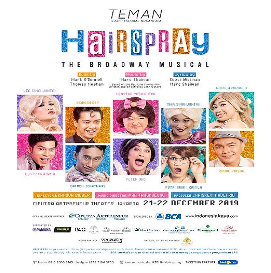 HAIRSPRAY The Broadway Musical!