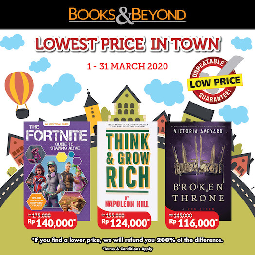 Books Lower Price by books and beyond
