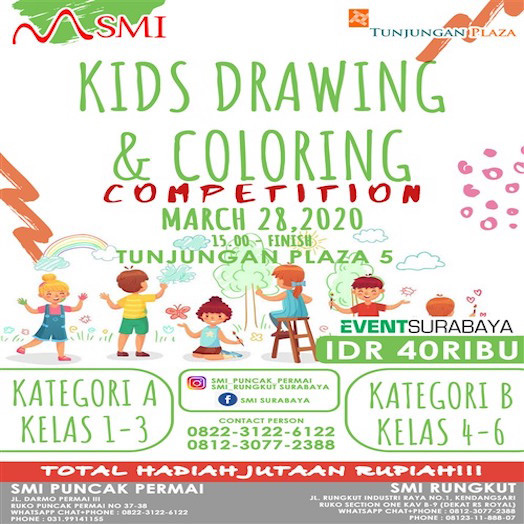 Kids Drawing and Coloring Competition