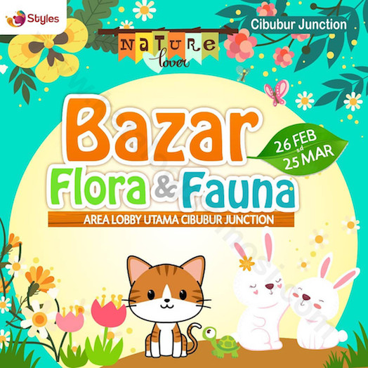 Bazar Flora dan Fauna