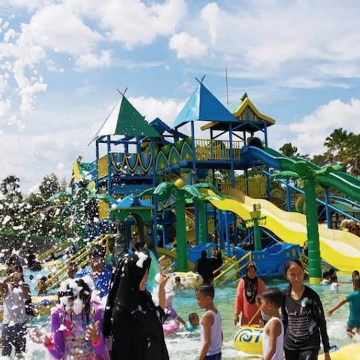 Labersa Water Park Riau Fantasi