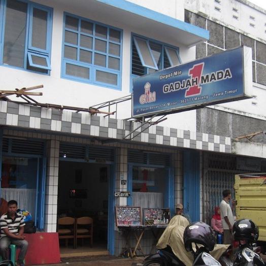 Depot Mie Gadjah Mada Malang