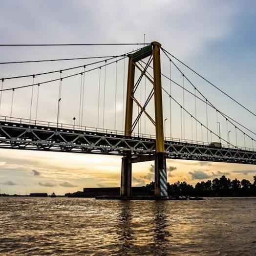 Jembatan Gantung Desa Nateh