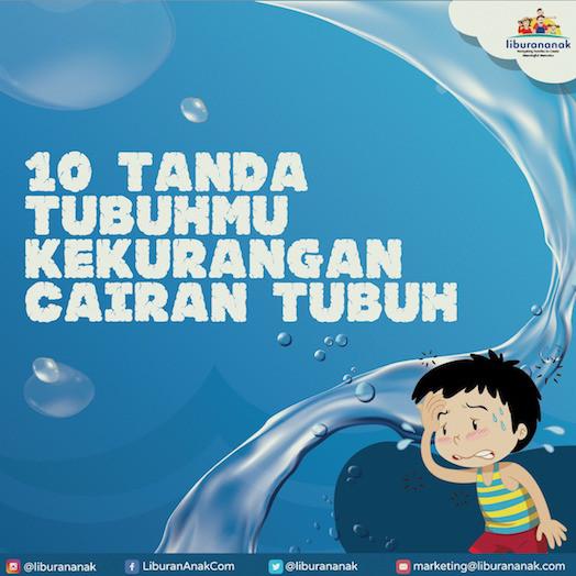 10 Tanda Tubuhmu kekurangan cairan tubuh