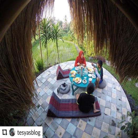 Penginapan Cozy Bamboo Eco Cottage