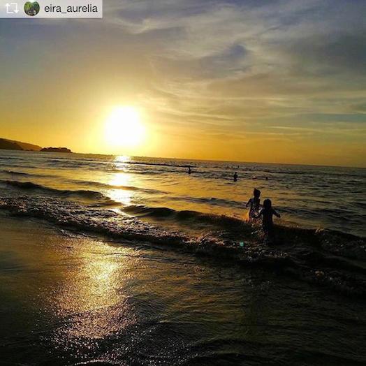Pantai Palangpang Ciwaru Sukabumi