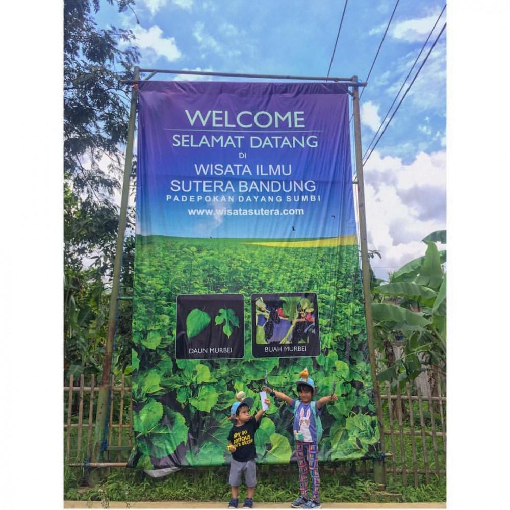 Wisata Edukasi Ilmu Sutera Bandung