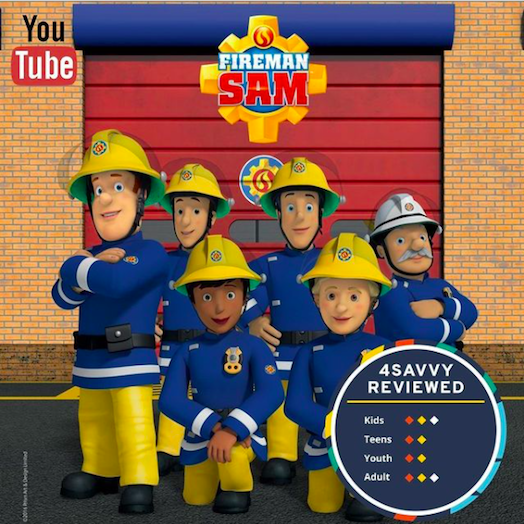 4SAVY YOUTUBE REVIEW TIME : FIREMAN SAM⠀
